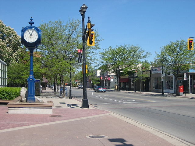 Downtown Burlington (Brant Street )