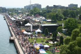 Canada's largest Ribfest Spencer Smith park Burlington, Ontario