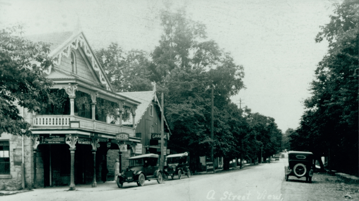 Historic picture of Ancaster Ontario